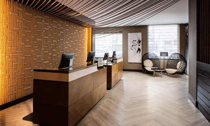 Hilton Brooklyn New York, USA – Empfang
