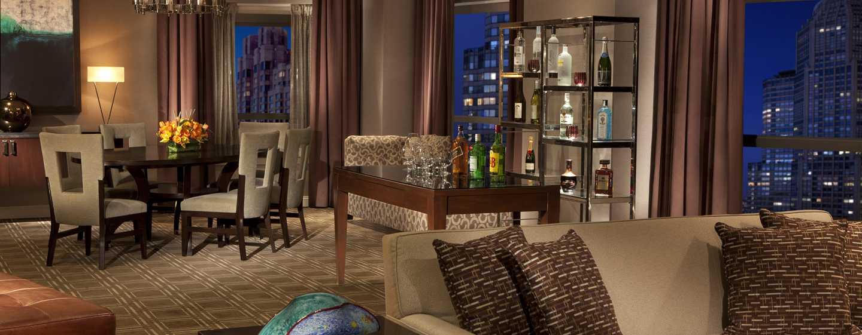 New York Hilton Midtown Hotels Unweit Des Time Squares