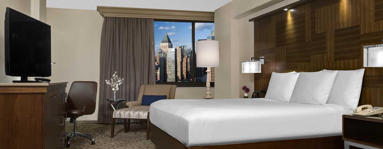Zimmer mit King-Size-Bett