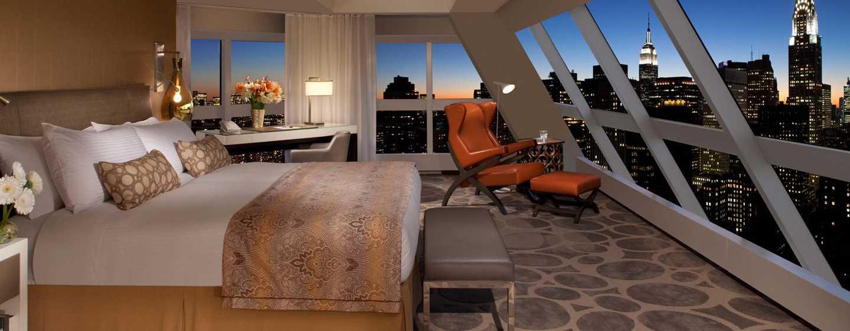 Millennium Hilton NewYork One UNPlaza, USA– Zweistöckige Suite mit 3Zimmern