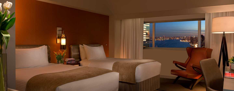Millennium Hilton NewYork One UNPlaza, USA– Zimmer mit Doppelbetten