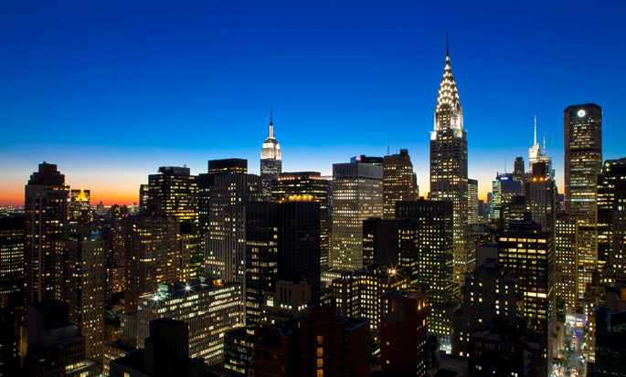 Millennium Hilton New York One UN Plaza, USA – Skyline von New York