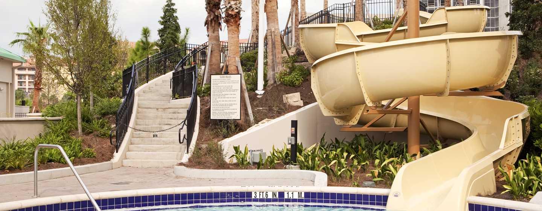 Hilton Orlando Bonnet Creek, Florida, USA– Wasserrutsche