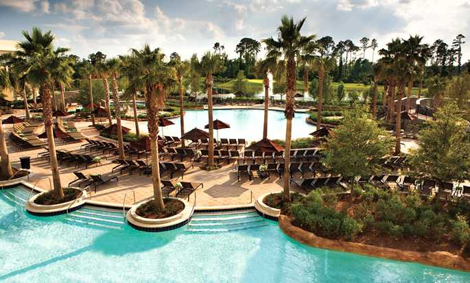 Hilton Orlando Bonnet Creek, Florida, USA – Lazy River Swimmingpool