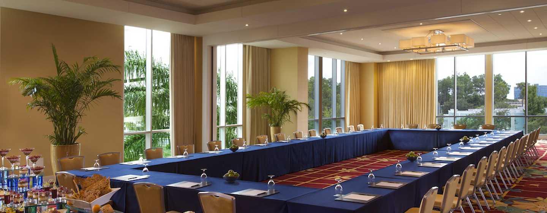 Hilton Orlando Hotel, Florida, USA– Boardroom Lake Mizell