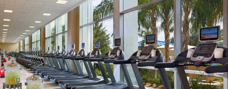 Hilton Orlando Hotel, Florida, USA– Fitnesscenter
