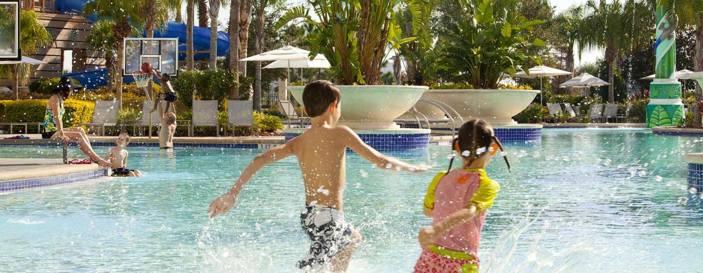 Hilton Orlando Hotel, Florida, USA– Familienspaß am Swimmingpool