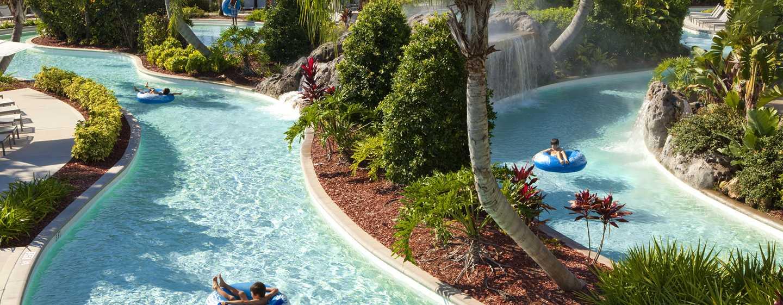 Hilton Orlando Hotel, Florida, USA– Lazy River