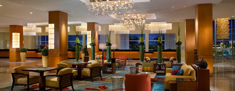 Hilton Orlando Hotel, Florida, USA– Hotel-Lobby