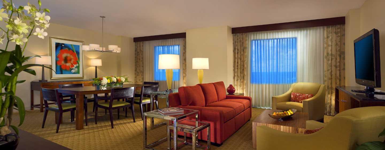 Hilton Orlando Hotel, Florida, USA– Parlour Suite