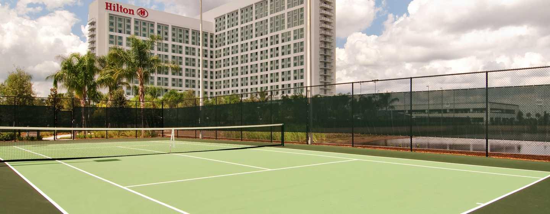 Hilton Orlando Hotel, Florida, USA– Tennisplätze