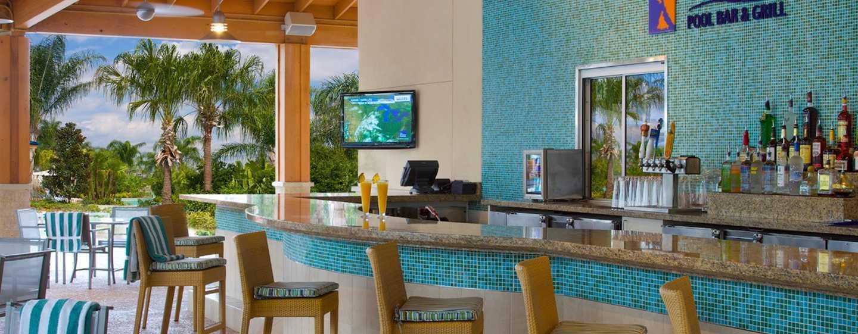 Hilton Orlando Hotel, Florida, USA– Poolbar und Grill Tropic's