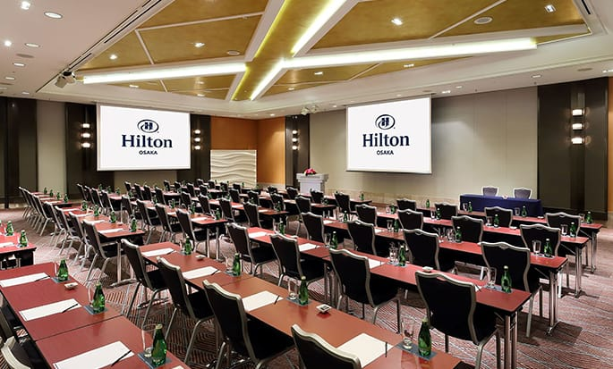 Hilton Osaka Hotel, Japan – Meetings