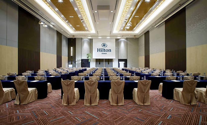 Hilton Osaka Hotel, Japan – Bankett-Meetings