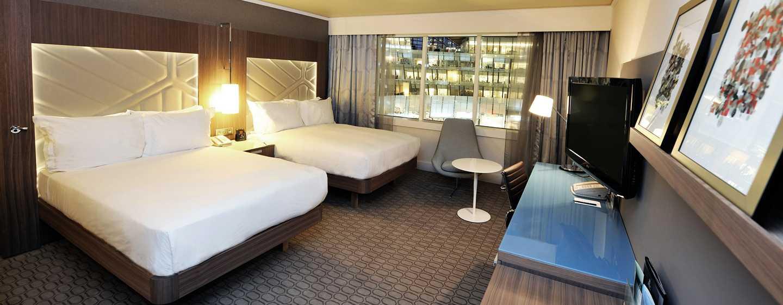 Hilton Paris La Defense Hotel, Frankreich – Deluxe Zimmer mit zwei Queen-Size-Betten