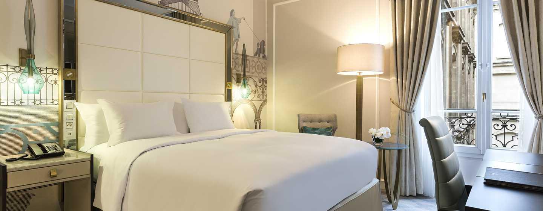 Hilton Paris Opera Hotel, Frankreich– Deluxe Zimmer