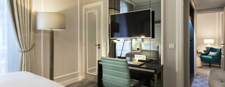 Hilton Paris Opera Hotel, Frankreich– Executive Suite mit Queensize-Bett
