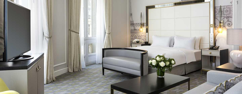 Hilton Paris Opera Hotel, Frankreich– Suite mit Kingsize-Bett