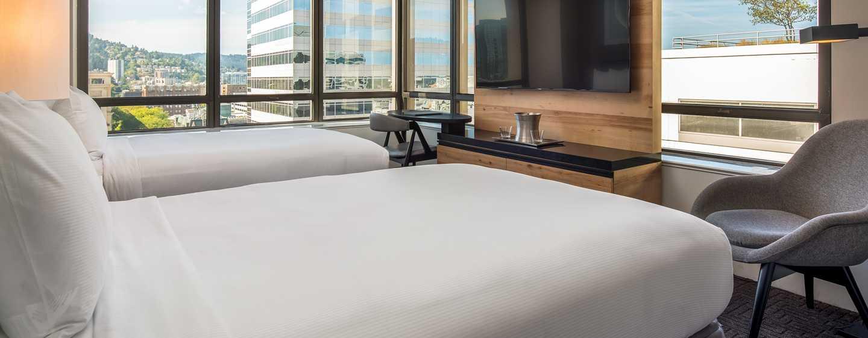 Hilton Portland Downtown Hotel, USA– Zimmer