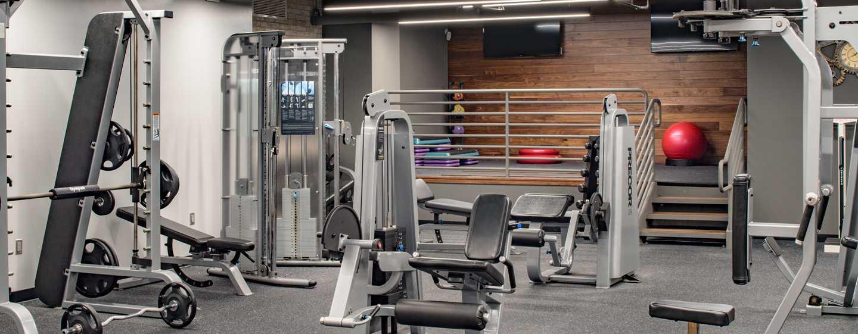 Hilton Miami Downtown Hotel, Florida, USA – Fitnesscenter
