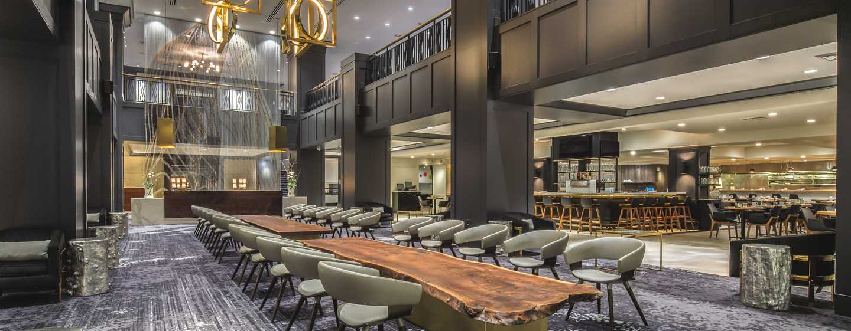 Hilton Portland Downtown Hotel, USA– Hotel Lobby