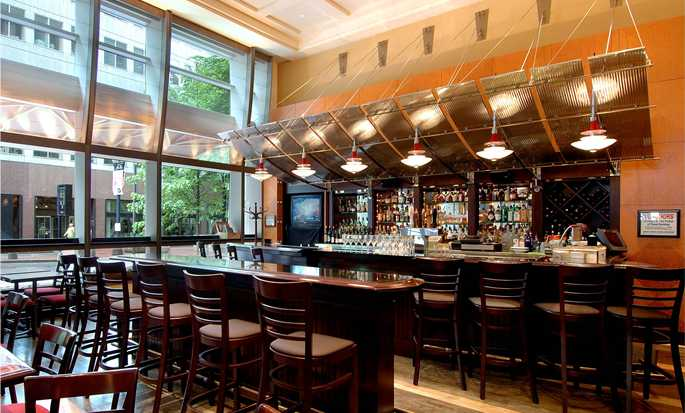 Hilton Portland Downtown Hotel, USA – Lounge-Bar Portot Terra