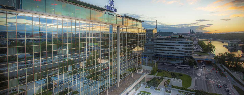 Hilton Prague Hotel, Tschechien– Außenansicht des Hilton Prague