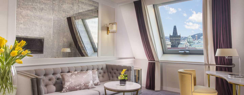Hilton Prague Old Town Hotel, Tschechien– Penthouse Suite mit Kingsize-Bett– Executive Suite