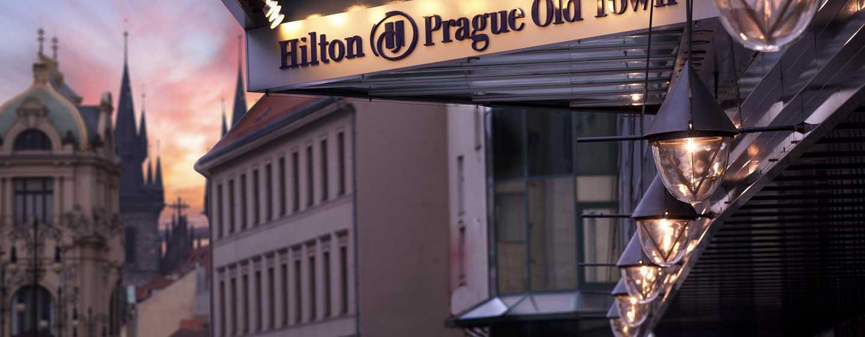 Hilton Prague Old Town Hotel, Tschechien– Außenbereich des Hotels