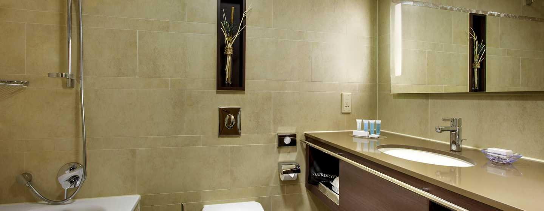 Hilton Mainz Hotel, Deutschland – Badezimmer