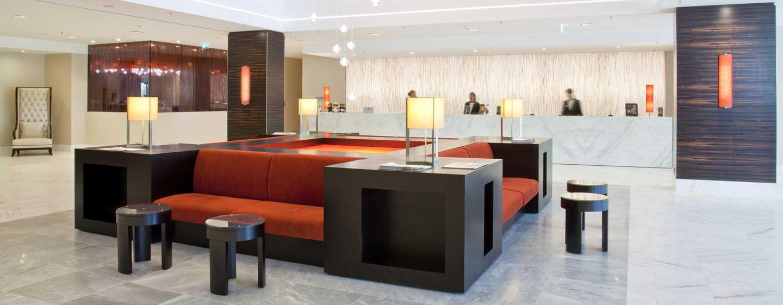 Hilton Mainz Hotel, Deutschland– Empfang und Lobby