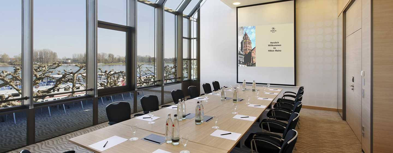 Hilton Mainz Hotel, Deutschland– Rhein Meetingräume