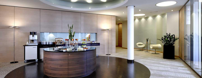 Hilton Mainz Hotel, Deutschland– Rhein Foyer