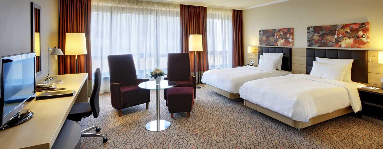 Hilton Mainz Hotel, Deutschland– Hilton Deluxe Zweibettzimmer