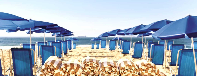 Hilton Rio de Janeiro Copacabana Hotel, Brasilien– Strandservice