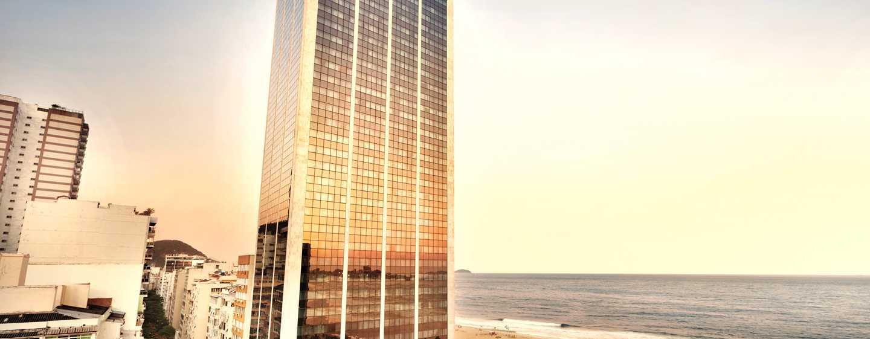 Hilton Rio de Janeiro Copacabana Hotel, Brasilien– Außenbereich des Hotels