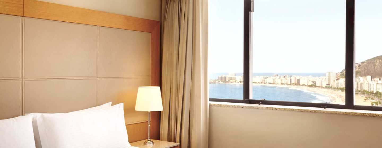 Hilton Rio de Janeiro Copacabana Hotel, Brasilien– Copacabana Zimmer mit Meerblick