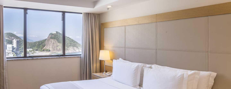 Hilton Rio de Janeiro Copacabana Hotel, Brasilien– Zimmer mit Meerblick