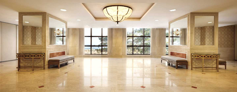 Hilton Rio de Janeiro Copacabana Hotel, Brasilien– Foyer des Meetingraums