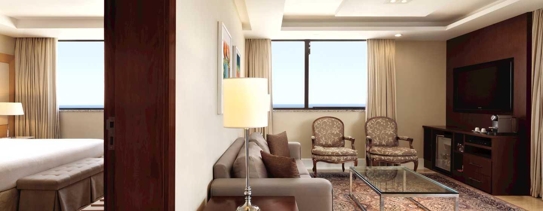 Hilton Rio de Janeiro Copacabana Hotel, Brasilien– Suite mit einem Schlafzimmer