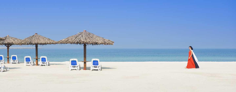 Hilton Al Hamra Beach& Golf Resort Hotel, Ras Al Khaimah, VAE– Strand