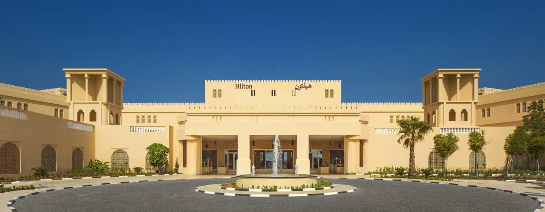 Hilton Al Hamra Beach& Golf Resort Hotel, Ras Al Khaimah, VAE– Außenbereich des Hotels