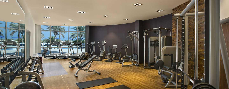 Hilton Al Hamra Beach& Golf Resort Hotel, Ras Al Khaimah, VAE– Fitnessraum
