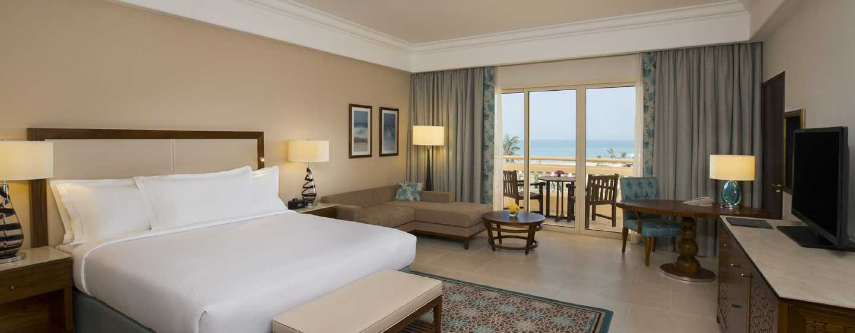 Hilton Al Hamra Beach& Golf Resort Hotel, Ras Al Khaimah, VAE– Zimmer des Hauptgebäudes