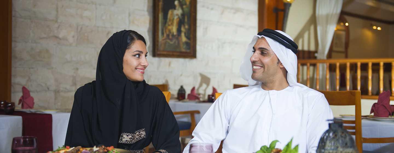 Hilton Al Hamra Beach& Golf Resort Hotel, Ras Al Khaimah, VAE– Al Shamal– Restaurant Al Jazeera