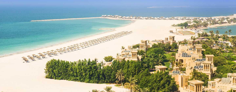 Hilton Al Hamra Beach& Golf Resort Hotel, Ras Al Khaimah, VAE– Strandansicht