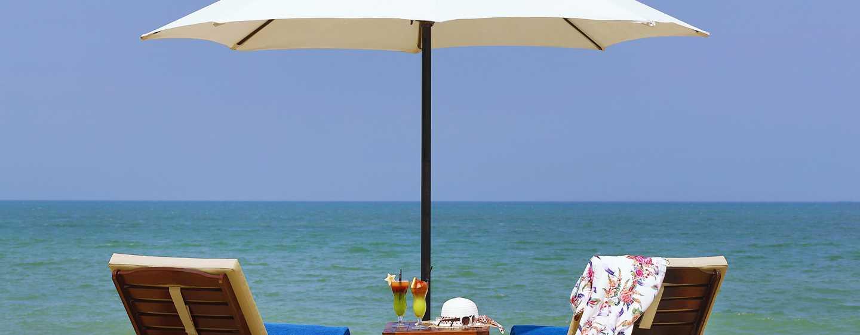 Hilton Ras Al Khaimah Resort& Spa Hotel, VAE– Aktivitäten am Strand