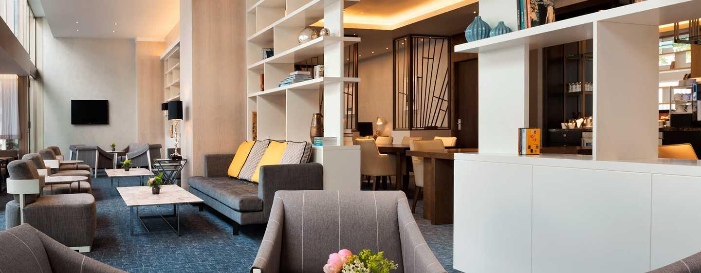 Hilton Rotterdam hotel, Netherlands - Executive Lounge