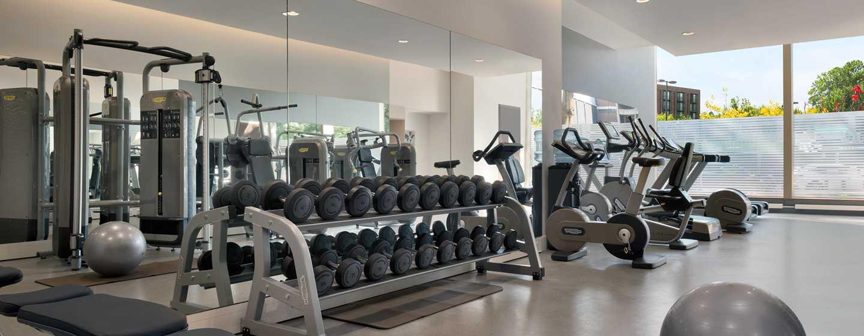 Hilton Rotterdam hotel, Netherlands - Fitness Center