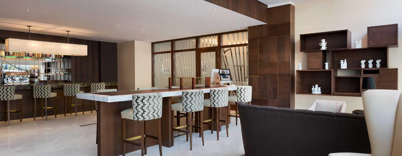 Hilton Rotterdam hotel, Netherlands - Lounge Bar
